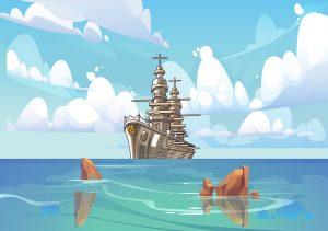 Battleship game - English with George