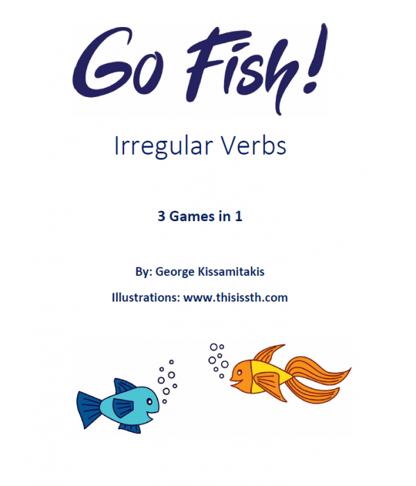 Go-Fish-Irregular-Verbs-Card-Game - English with George