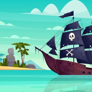 Pirate Ships grid game - English with George