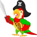 Pirate Ships - Present Simple Parrot - English with George