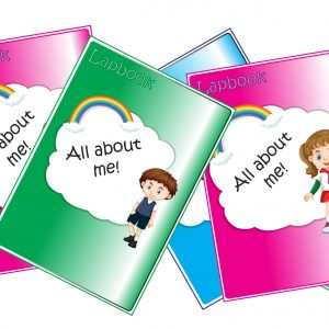 Covers - Lapbook - All about me! - English with George