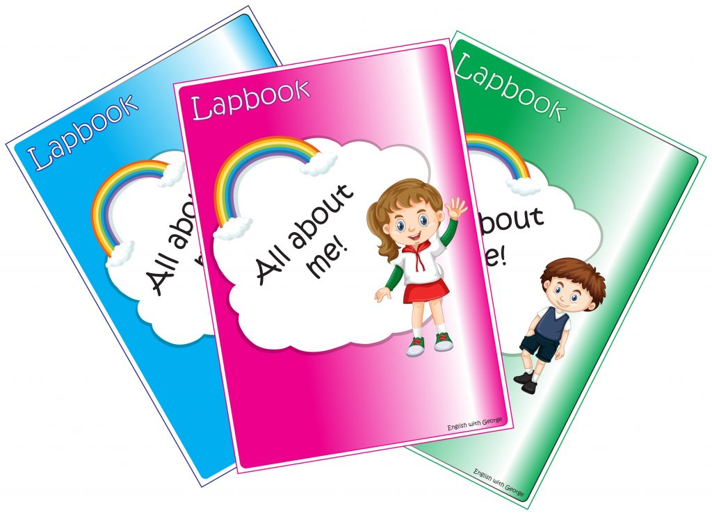 All About me! - Lapbook - Covers - English with George